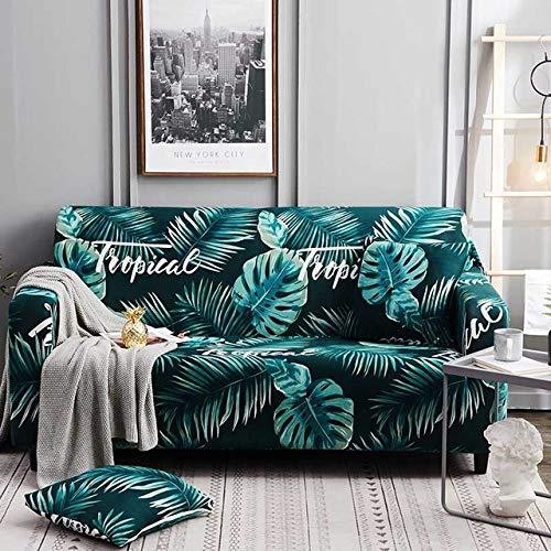 KTUCN Schonbezüge im nordischen Stil, elastisches Baumwolltuch, für Einzel- / Zwei- / DREI- / Viersitzer-Sofabezug, Pattern 8, 1-Seater 90-140cm