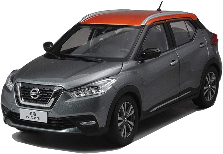GYZS-TOY Automodell Nissan Nissan Kicks 2017 Modelle 1 18 Automodell (Farbe   SCHWARZ) B07M6JKSRF Smart  | Viele Sorten