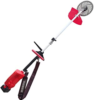 LJYY Cortadora de césped con batería, cortadora de Engranajes de jardín, cortadora de césped de Marco liviano con batería ...