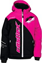 Castle X Stance G2 Youth Snowmobile Jacket - Black/Pink Glo (SML)