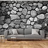 murando - Fotomural 600x280 cm - fotomurales tejido no tejido - decoración de pared XXL moderna - Piedras óptico Muro f-A-0488-a-d