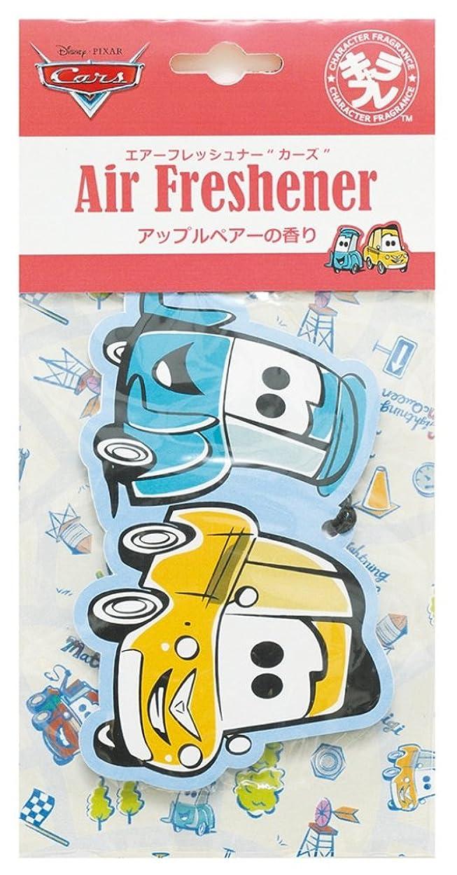用語集徹底的にするディズニー エアーフレッシュナー カーズ 吊り下げ アップルペアーの香り DIP-94-03