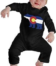 SARA NELL Baby Boys & Girls Bodysuit American Colorado Bear Jumpsuit Onesies Long Sleeve