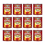 Redpack Crushed Tomatoes in Puree, Kosher and Gluten Free, 28 Ounce Cans, 12-Pack