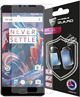 IPG for Oneplus 3-3T Screen Protector Invisible Phone Protector HD Quality Film Case Friendly Bubble - Free Skin Free