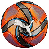Puma Future Flare Mini Ball Ballon de foot Mixte Enfant,orange /Bleu Azur Black, Taille: M