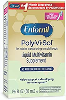 Enfamil Poly-Vi-Sol Liquid Multivitamin Supplement 50 ml