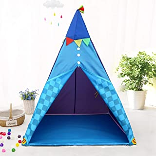 Kids Indian Teepee Baby Playhouse For Indoor Outdoor Foldable Tent Toy