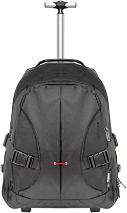 18c82d925 Promate Rolling Backpack, High-Capacity Water-Resistant Versatile  All-Terrain Trolley Bag