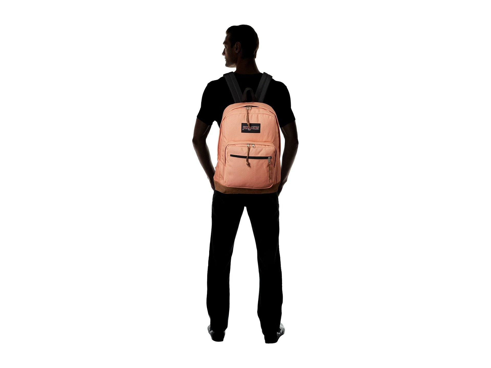 Jansport Muted Muted Right Jansport Pack Right Clay Pack Clay wgIqx5P