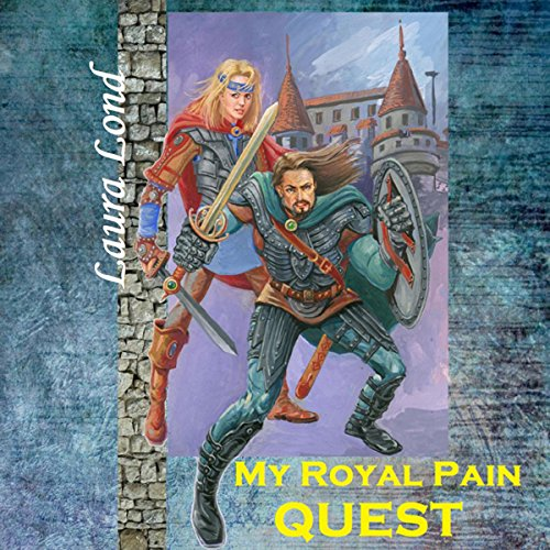 My Royal Pain Quest audiobook cover art