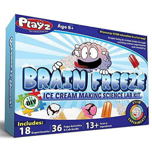 Playz Ice Cream Making Science Kit