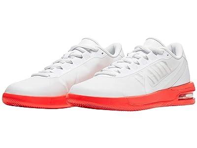 Nike NikeCourt Air Max Vapor Wing MS (White/White/Laser Crimson) Women