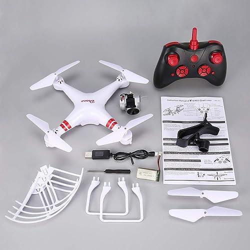 alta calidad GreatWall KY101S RC Drone - Cuadricóptero Cuadricóptero Cuadricóptero teledirigido (Gran Angular, 1080p, Altura de la cámara), Color blanco  60% de descuento