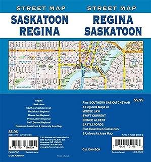 Regina / Saskatoon, Saskatchewan Street Map
