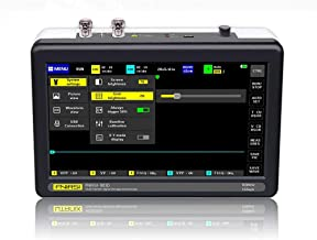 Sangmei ADS1013D 2 Channels 100MHz Band Width 1GSa/s Sampling Rate Oscilloscope with 7 Inch Color TFT LCD Touching Screen