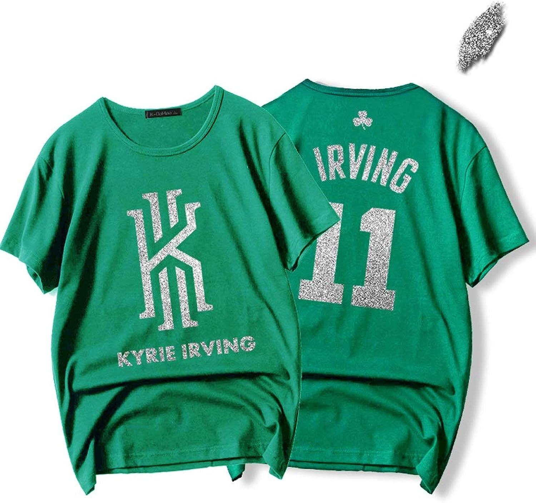 CIGONG Short Sleeve TShirt 2019 New Season Warrior Jersey Curry Durant Green Thompson TShirt Basketball Cotton TShirt (color   Green, Size   XXXL)