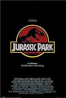 TShirt-People Jurassic Park Distressed Cuscino con Logo 40 x 40 cm