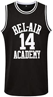 Generies #14 The Fresh Prince of Bel Air Academy Men Basketball Jersey, Black