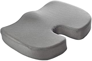 Anjetan U Shaped Cushion Ergonomic Design Gel Seat Cushion Tailbone Cushion Chair Cushion for Office