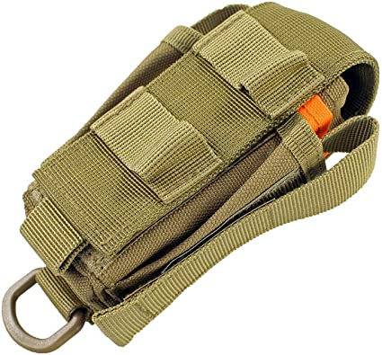 Durable Nylon Molle Pouch Multi-Use Flashlight Knive Tool Organizer Pouch