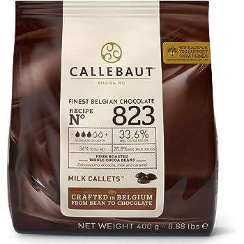 2,5kg Belgische Weiße Schokolade Callebaut  W2 Kuvertüre 2500g Pop Candy Melts