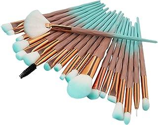 DOXMAL 20 Pieces Professional Eyeshadow Makeup Brush Diamond