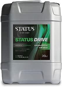 Status Car Care 15W40 Super MINERAL ENGINE OIL 20L Litre