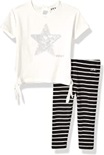 DKNY Baby Girls Fashion Top and Legging Set (More Styles Available)