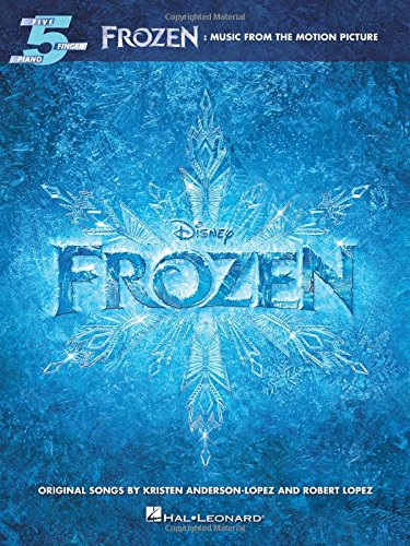 Frozen: Music From The Motion Picture (Five Finger Piano): Songbook für Klavier: Music from the Motion Picture Soundtrack