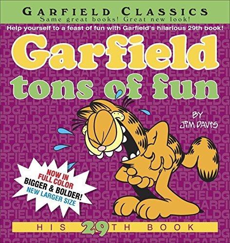 Garfield Tons of Fun by Davis, Jim (2015) Paperback