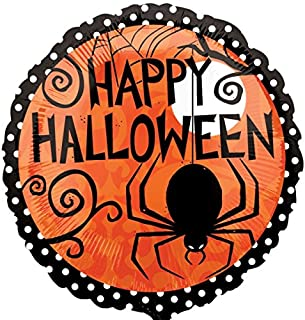 Anagram Happy Halloween Frightfully Fancy 18 inch Foil Balloon