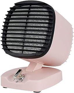 LRR Calefactor Portátil,Calefactor Eléctrico con Modos De Viento Caliente/Natural,Mini Calentador De Mesa Calentador (Color : B)