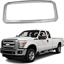 NINTE Grill Covers for Ford F-250 F-350 F-450 Super Duty 2011-2016, ABS Chrome Front Bumper Hood Grille Cover - 4pcs