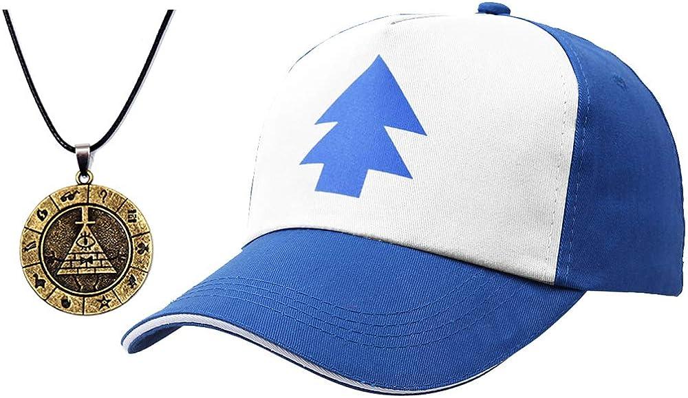 EIKOU Gravity Falls Dipper's Hat Blue Dipper Hat Baseball Cap