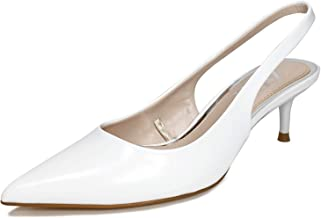 Zara Women Slingback kitten-heel shoes 2233/001/001