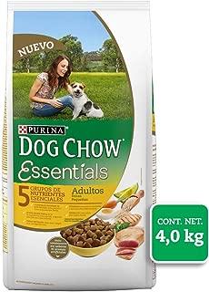 Dog Chow Essentials Comida para Perro, Adulto, Raza Pequeña 4 kg