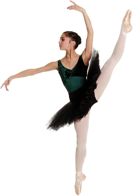 DANCEWEAR WORLD DIRECT Rumpf Ballettschuh Spitzenschuh Cabrio Fu Ballett Strumpfhose–Erwachsene & Kinder Gren