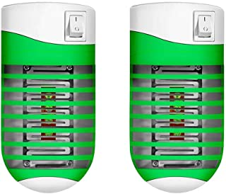Electric insect killer, mosquito plug/UV - insect trap light/insect repellent (2Pack)