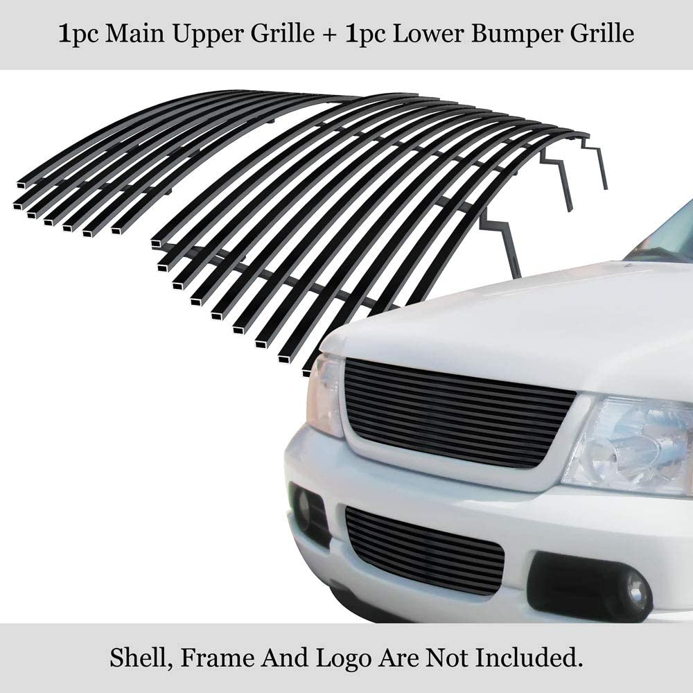 Super-cheap APS Compatible Nippon regular agency with 2002-2005 Explorer Steel Stainless 8x6 Black