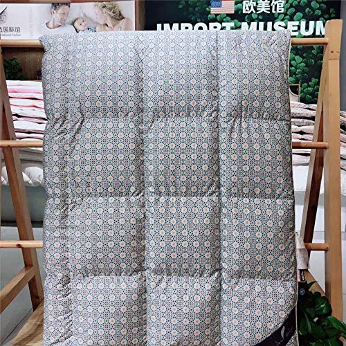 Hahaemall Duvet-Light to enjoy the silk jacquard duvet, white goose down quilt, winter thick warm quilt Quality Hypoallergenic Comforter Quilt with-E_winter200X230/2750G