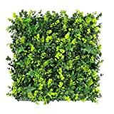 ULAND Artifical Topiary Hedges Panels, Faux Plant Shrubs Greenery Backdrop Wall Decorations, Outdoor