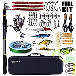 5 best fishing rod and reel combo kits for a beginner for Fish tagging kit