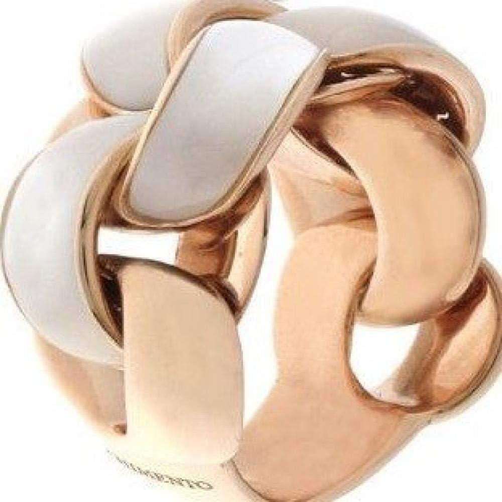 Chimento,anelloper donna, in oro rosa 18kt con incastonate madreperla 1A07990W26140-14