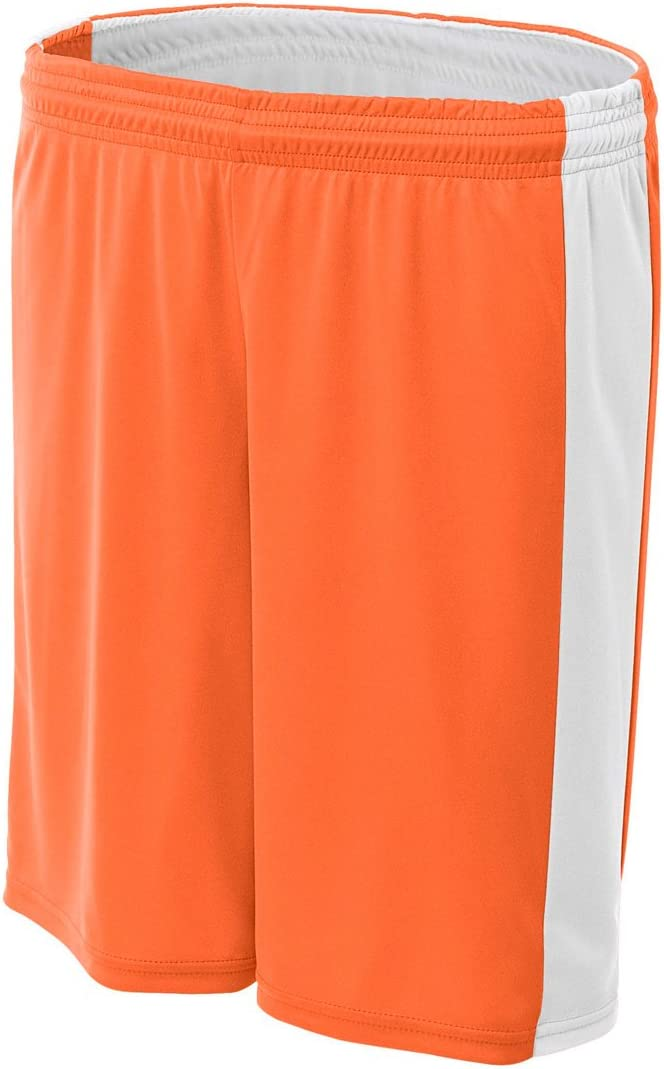 A4 NW5284-ORW Reversible New York Mall Moisture Management Shorts 8
