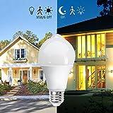 BRTLX Sensor Birne 13W E27 LED Birne mit PIR Bewegungsmelder Warmweiß 3000K 1040Lm Energiesparlampe Glühbirne für Treppen Haustür Garten Garage Kellerabgang, 2er Pack - 5