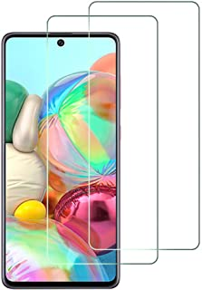 AFGLOOY 2Pack Tempered Glass For Galaxy A71 Screen Protector, Easy Bubble-Free Installation, 99.99% HD Clarity, Glass Scre...