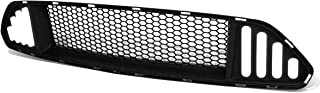Front Bumper Upper Badgeless Honeycomb Style Grill/Grille w/LED DRL for 15-17 Ford Mustang