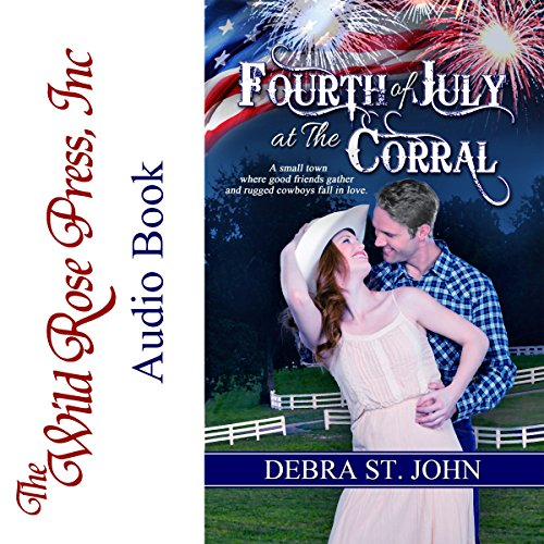 Fourth of July at The Corral audiobook cover art