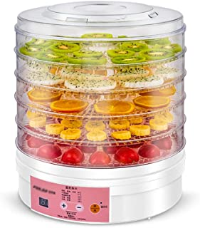 YUNTAO Food dehydrator, Fruit Dryer, 5 layer Tray Timing Temperature Regulation Household Dry Food Machine For Drying Food...